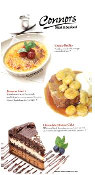 Fresh Desserts Gourmet Connors Steak Seafood Restaurant Fort Myers Fl Huntsville Al Knoxville Tn